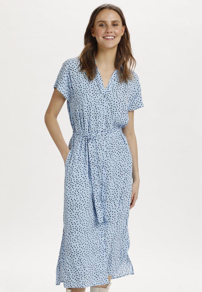 Saint Tropez - Abito a camicia - cashmere blue dot
