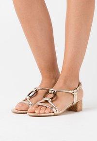 Head over Heels by Dune - JANIITA - Sandals - gold - 0