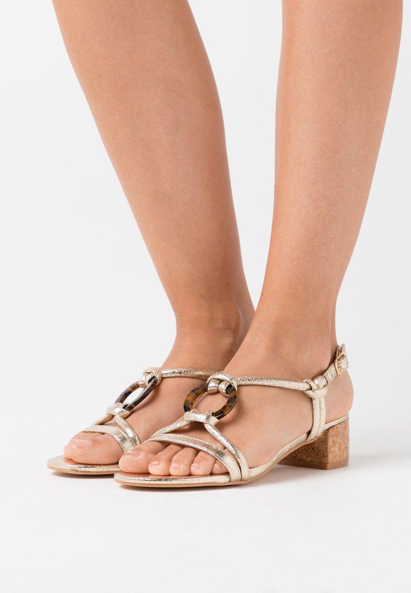 Head over Heels by Dune - JANIITA - Sandals - gold