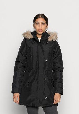 EXCURSION EXPEDITION - Płaszcz zimowy - black