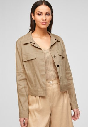 Summer jacket - beige