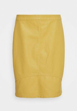 TILLA  - Mini skirt - rattan