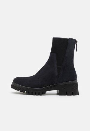 KELLY - Platform ankle boots - night blue