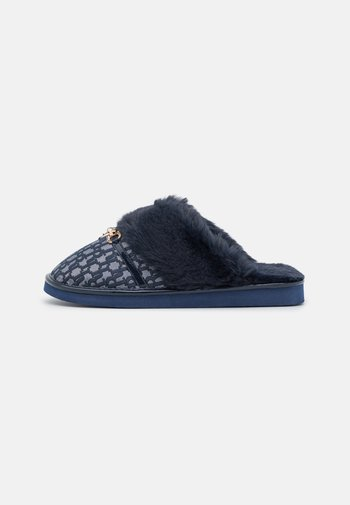 Slippers - navy