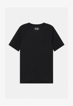 TECH HYBRID LOGO UNISEX - T-shirt print - black