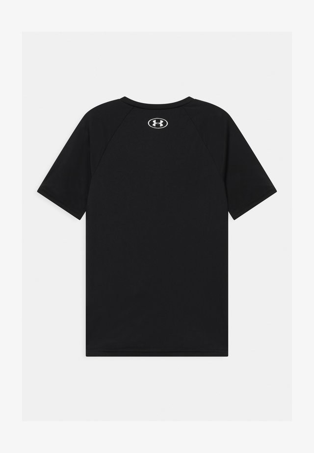 TECH HYBRID LOGO UNISEX - Print T-shirt - black