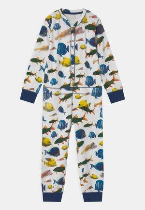 BOYS ONESIE AQUA - Pyžamo - multi-coloured