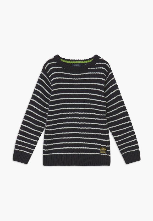 KIDS STRIPE JUMPER - Pullover - nachtblau