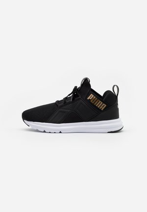 ENZO EDGE - Neutral running shoes - black/gold