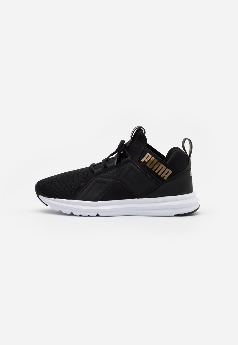 Puma - ENZO EDGE - Neutral running shoes - black/gold