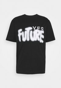 Études - YES FUTURE UNISEX - Printtipaita - black - 0