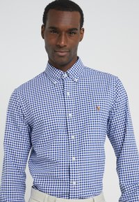 Polo Ralph Lauren - SLIM FIT - Shirt - blue/white - 3