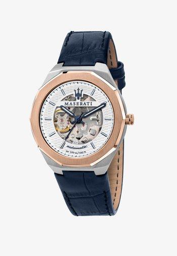 AUTOMATIKUHR STILE - Watch - blau/silber