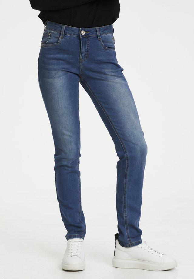 LONECR - Slim fit jeans - denim blue