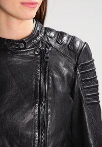 Gipsy - Veste en cuir - black - 3