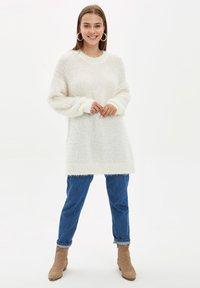 DeFacto - Fleece jumper - beige - 1