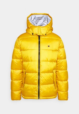 HOODED JACKET - Veste d'hiver - yellow