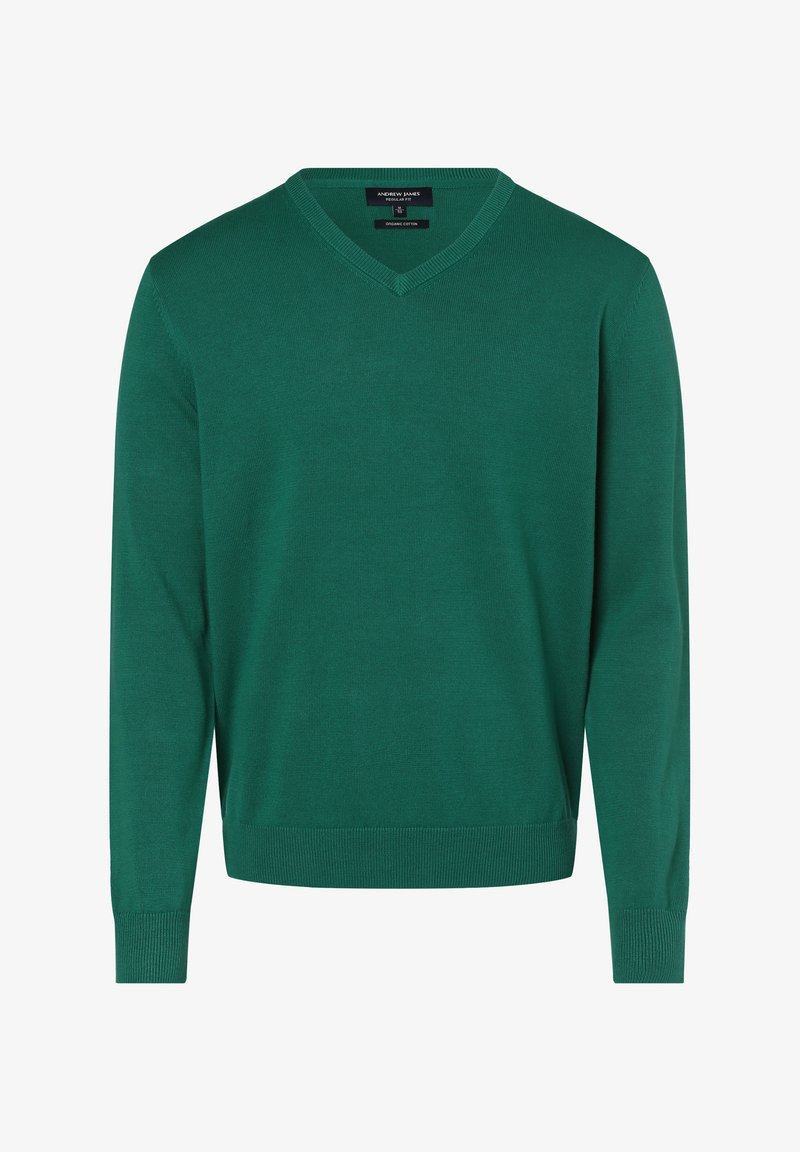 Andrew James - Sweatshirt - smaragd