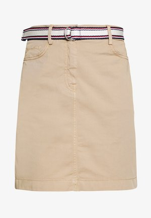 SLIM SKIRT - Pencil skirt - beige
