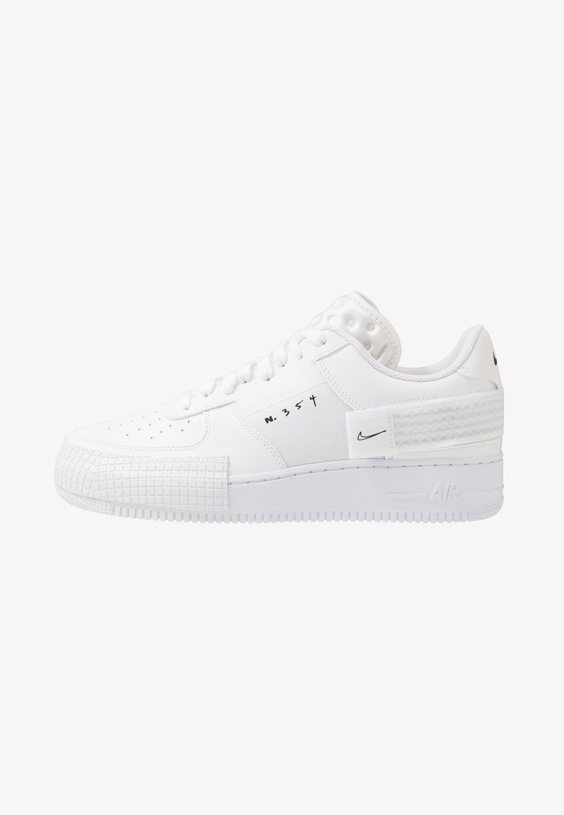 Nike Sportswear - AF1-TYPE  - Sneakers - white/black