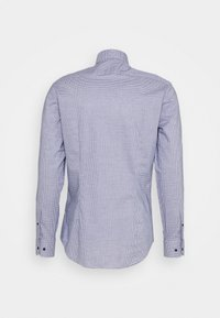 Tommy Hilfiger Tailored - MINI CHECK SLIM FIT - Shirt - navy/white - 6