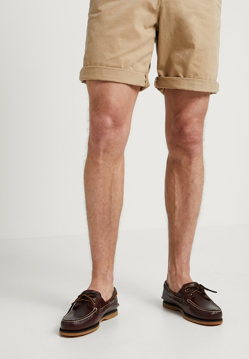 Timberland - Boat shoes - rootbeer