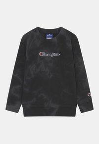 Champion Rochester - COLOR SPLASH CREWNECK UNISEX - Sweatshirt - black - 0