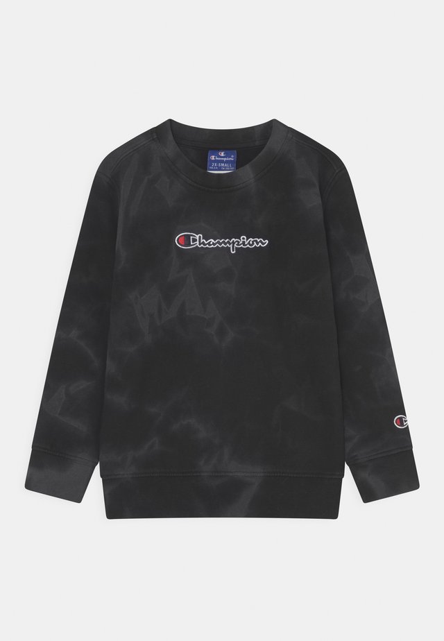 COLOR SPLASH CREWNECK UNISEX - Sweatshirt - black