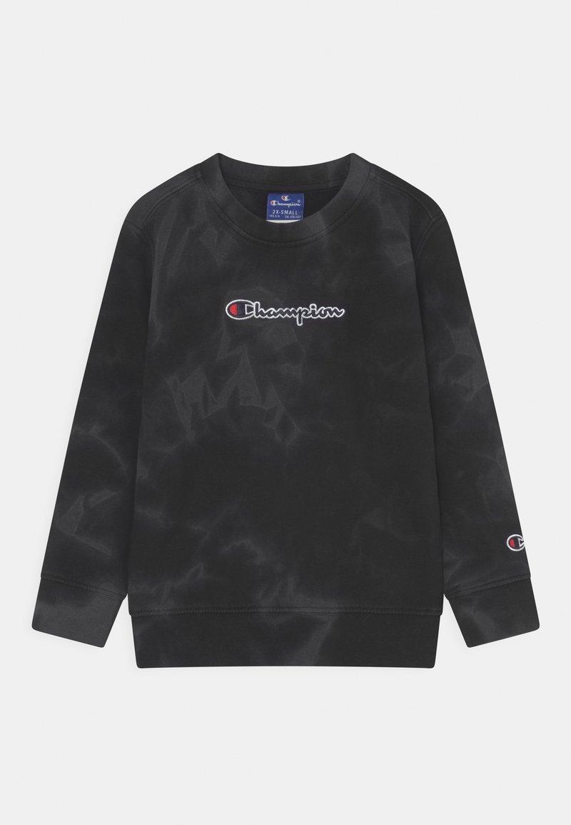 Champion Rochester - COLOR SPLASH CREWNECK UNISEX - Sweatshirt - black