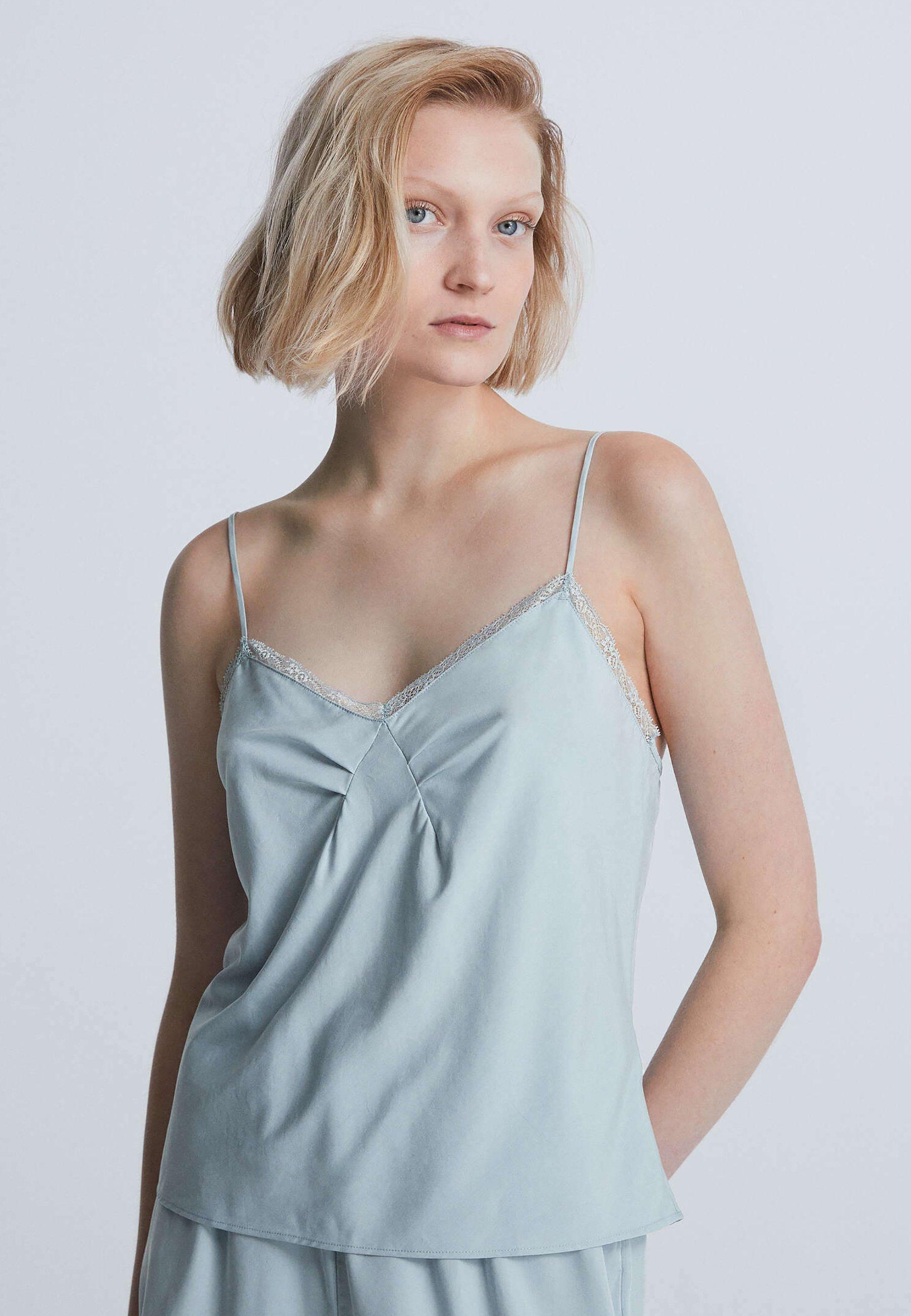 Donna LACE TRIM STRAPPY - Maglia del pigiama