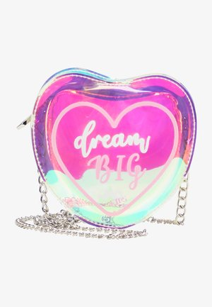 DREAM BIG - Across body bag - blau holo