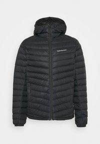 Peak Performance - FROST HOOD JACKET - Down jacket - black - 4