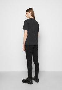 The Kooples - VINTAGE WASHED  - Print T-shirt - black - 2