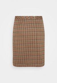 More & More - SKIRT SHORT - Mini skirt - soft caramel - 1