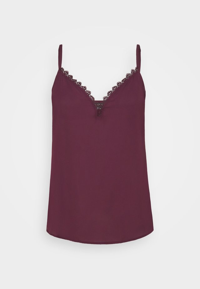 CAMI LOVE - Toppe - spiced plum