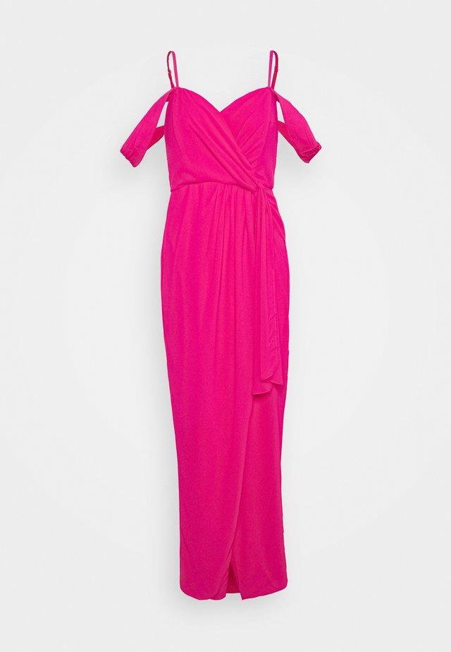 SUZANNE MAXI - Festklänning - fuchsia