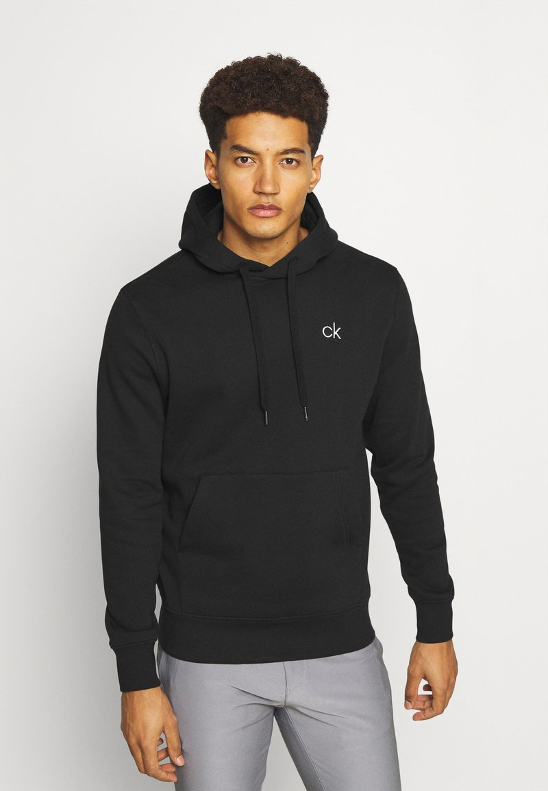 Calvin Klein Golf - PLANET HOODIE - Sweatshirt - black