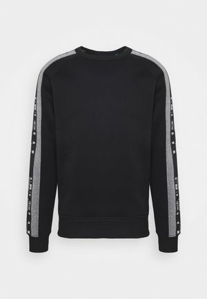 SPORT HEATHER STRIPE R SW L\S - Sweatshirt - ashor sweat r - dk black