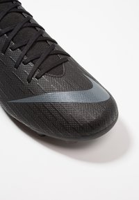 Nike Performance - MERCURIAL 6 ACADEMY MG - Moulded stud football boots - black/anthracite/light crimson - 5