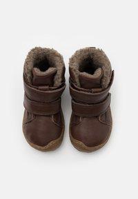 Froddo - MINNI WINTER SHOES SLIM FIT UNISEX - Dětské boty - dark brown - 3