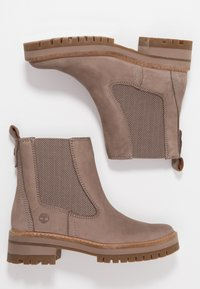 Timberland - COURMAYEUR VALLEY CHELSEA - Classic ankle boots - taupe grey - 3