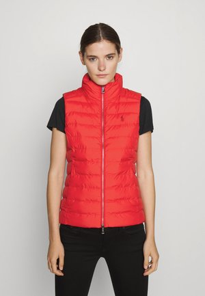 VEST - Waistcoat - spring red