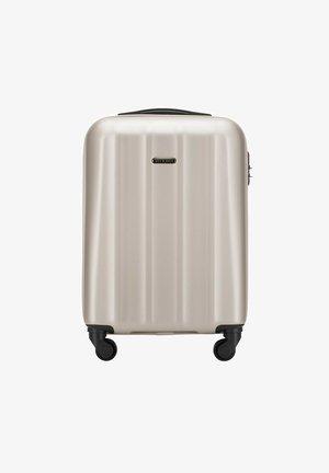 Wheeled suitcase - hellgrau