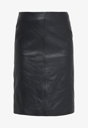 HANNA PENCIL SKIRT - Pencil skirt - black