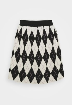 YANNI SKIRT - Gonna a campana - black