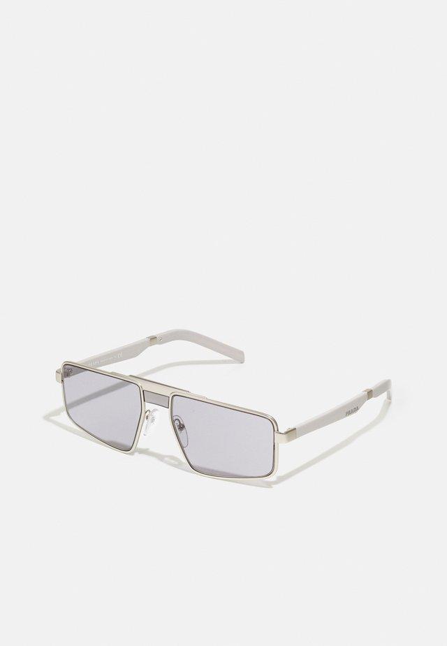 Sunglasses - matte silver-coloured
