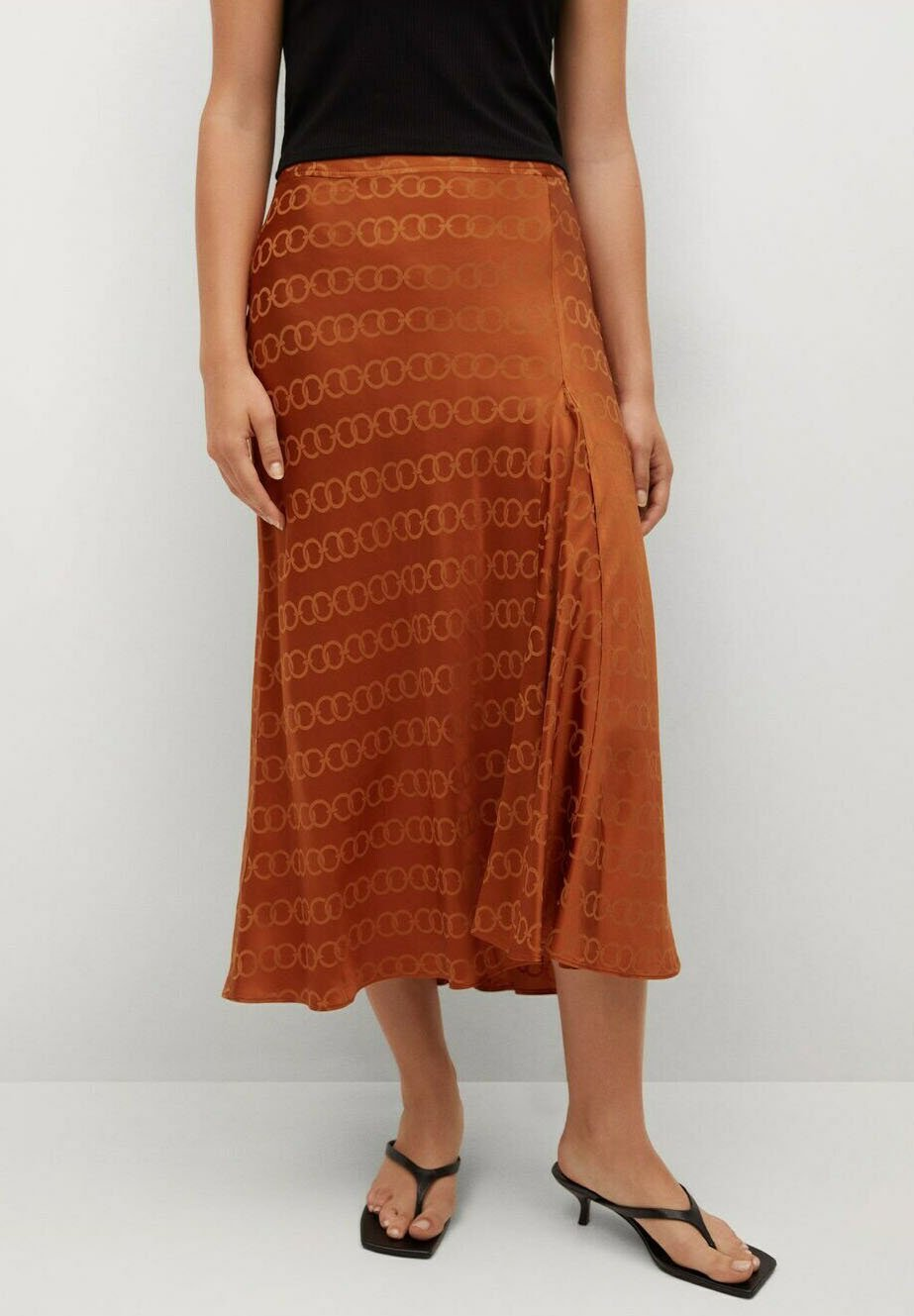 Women MIDI - A-line skirt