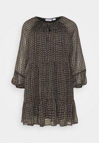 NMUTZIE SHORT DRESS - Denní šaty - black
