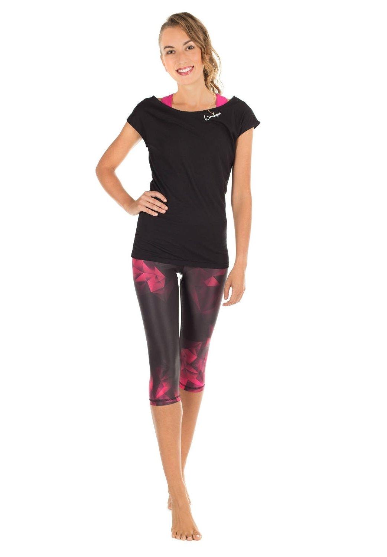 Femme AEL202 - Pantalon 3/4 de sport