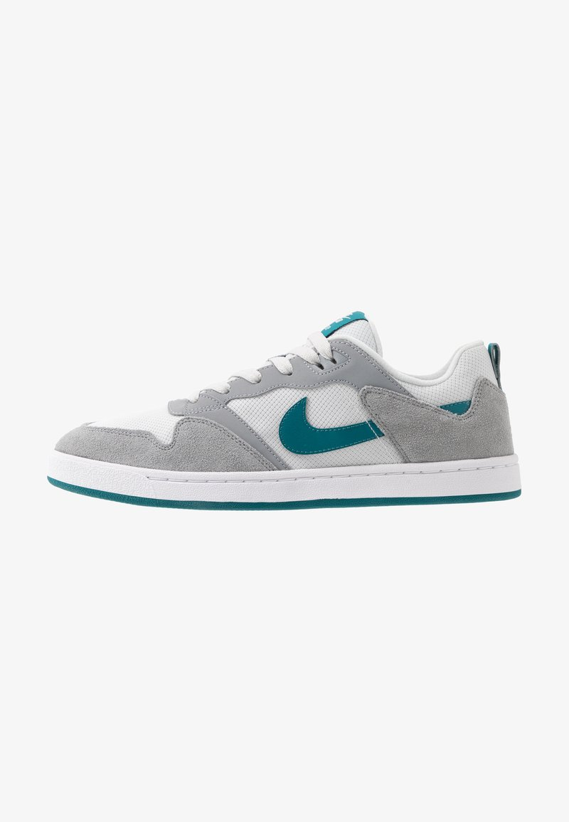 Nike SB - ALLEYOOP UNISEX - Skateschoenen - particle grey/geode teal/photon dust/white